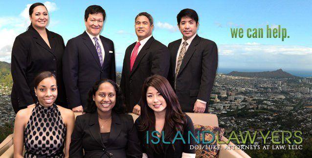 Photo of the attorneys and staff of Doi/Luke, Islandlawyers