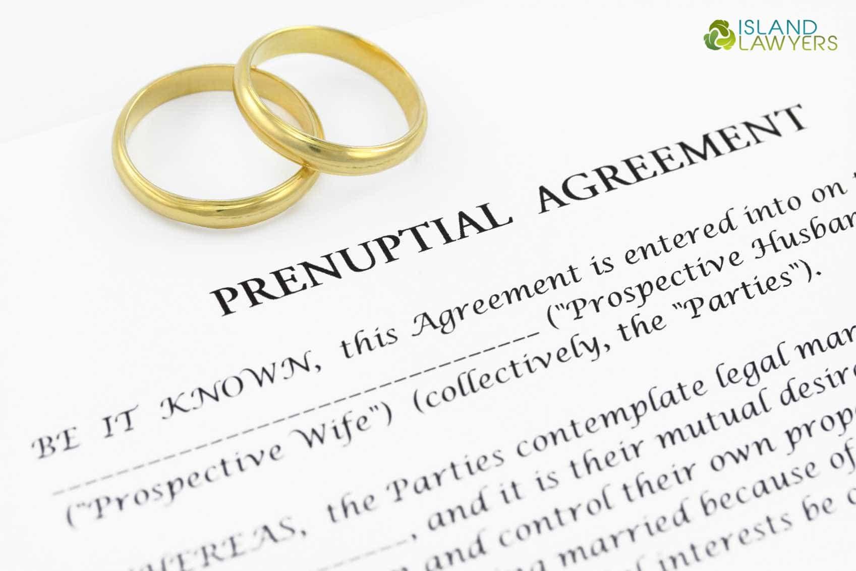 Alimony Options In Prenuptial Agreements Doiluke Island Lawyers